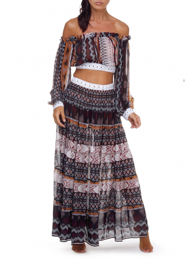 Crop Top Mexica